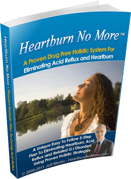 The Heartburn No More Review: Does Jeff Martin's eBook Helps In Curing Acid Reflux?