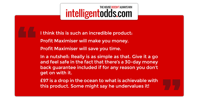 profit maximiser system