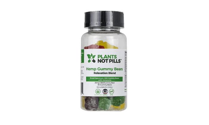 Plants not Pills hemp gummy bears review