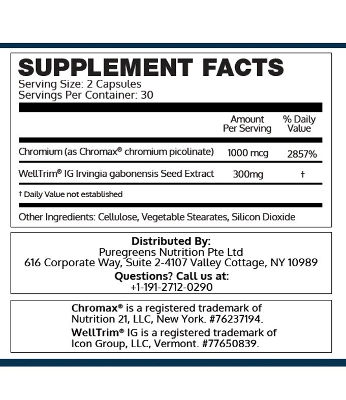 PureGreens BioLeptin Review dosage