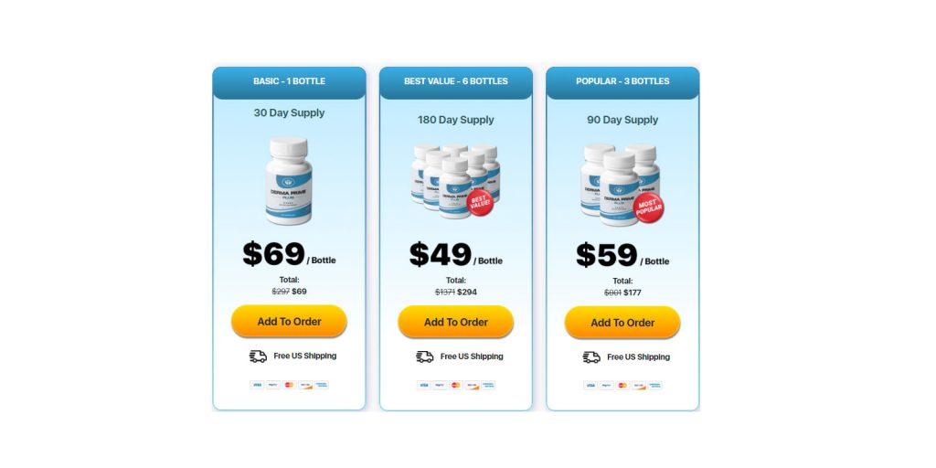 Derma Prime Plus price plans