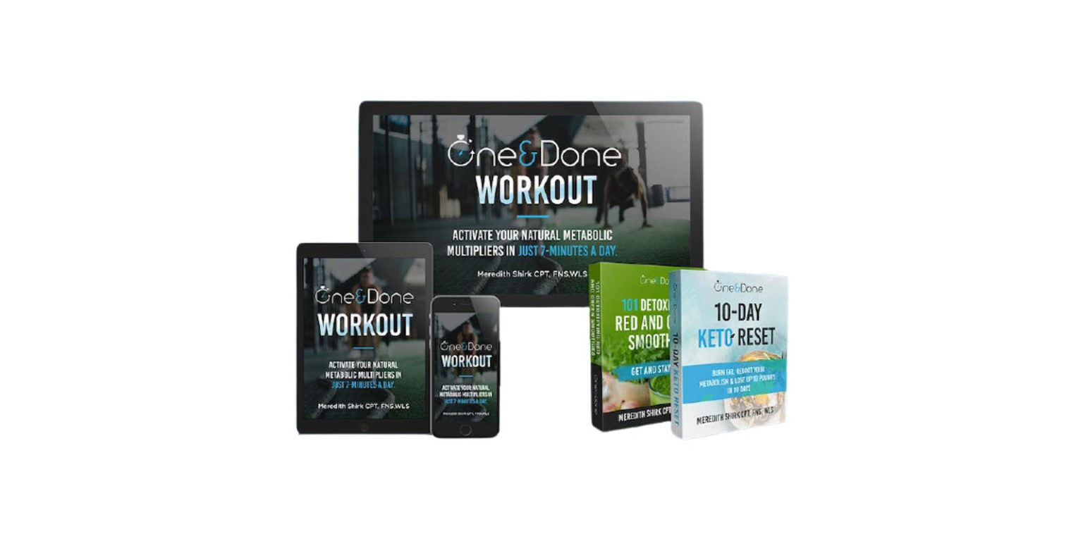 One And Done Workout Reviews – Is This Seven-minute Workout Program Worth Trying?
